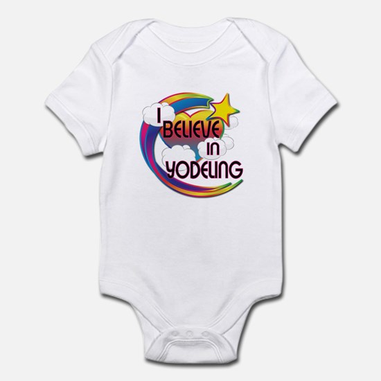 I Believe In Yodeling Cute Believer Design Infant