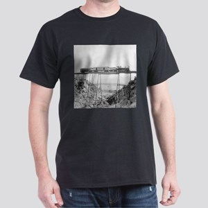 Train Crossing High Bridge T-Shirt