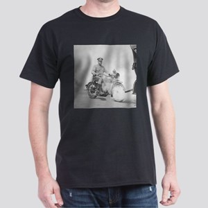 Motorcycle Policeman on Duty T-Shirt