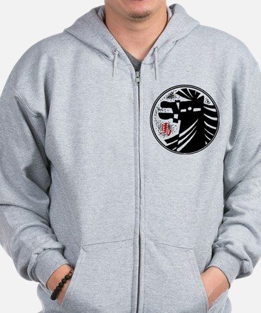 Chinese New Year of The Horse 0000 Zip Hoodie