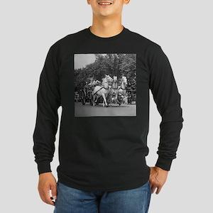 Fire Department Horses Long Sleeve T-Shirt