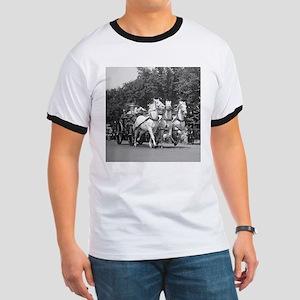 Fire Department Horses T-Shirt