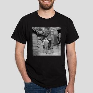 Elephant Performs a Trick T-Shirt