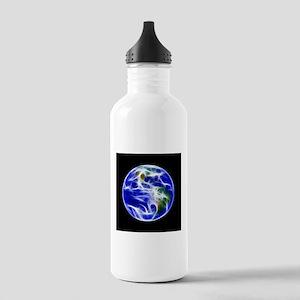 Planet Earth World Globe Water Bottle