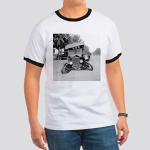 Crashed Ford Model T T-Shirt