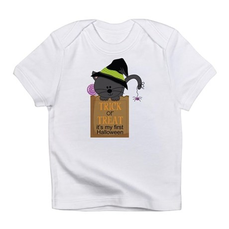 Baby's 1st Halloween Cat Infant T-Shirt