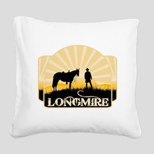 Longmire TV Square Canvas Pillow