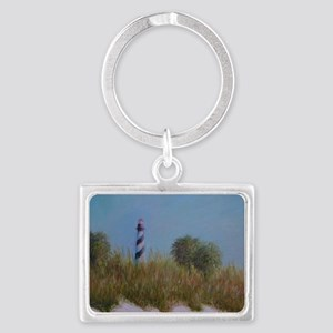 ST. AUGUSTINE LIGHTHOUSE VIEW Keychains