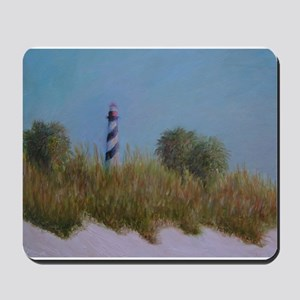 ST. AUGUSTINE LIGHTHOUSE VIEW Mousepad