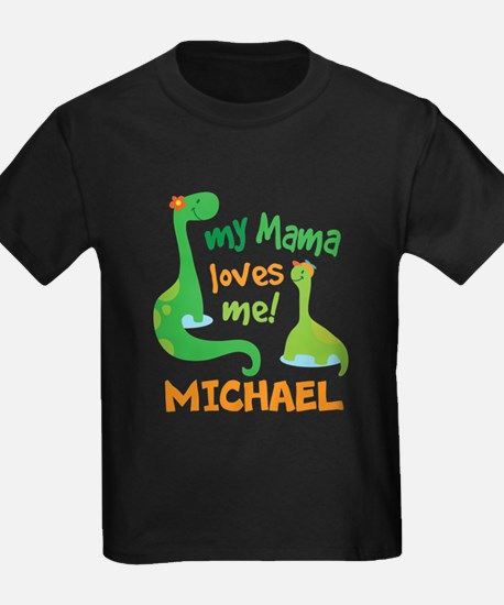 My Mama Loves Me Personalized T-Shirt