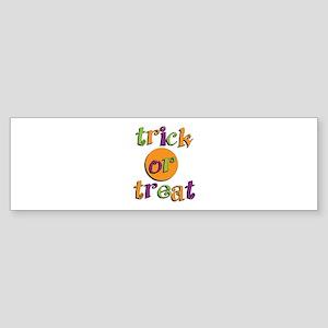 Trick or Treat 2 Bumper Sticker