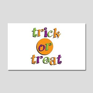 Trick or Treat 2 Car Magnet 20 x 12