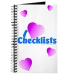 """I Heart Checklists"" Journal"