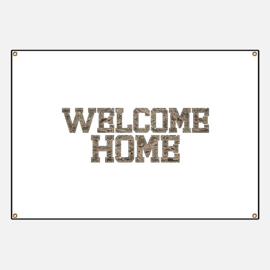 Welcome Home AIRFORCE Banner