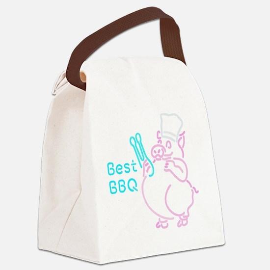 Porky BBQ Canvas Lunch Bag