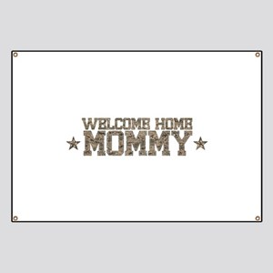 Welcome Home AIR FORCE Mommy Banner