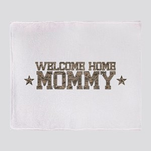 Welcome Home AIR FORCE Mommy Throw Blanket