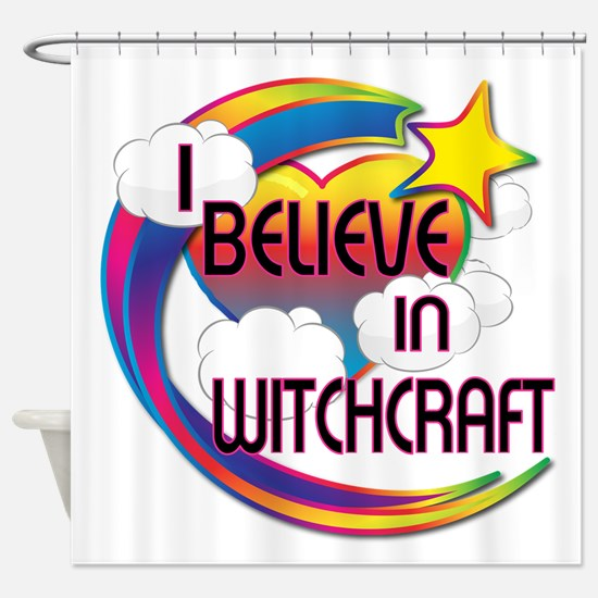 I Believe In Witchcraft Cute Believer Design Showe