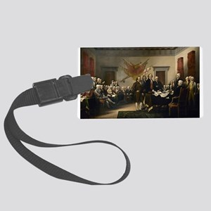 Declaration Independence Luggage Tag