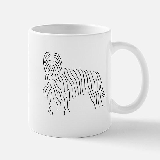 Briard Sketch Mug