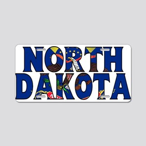 North Dakota Aluminum License Plate