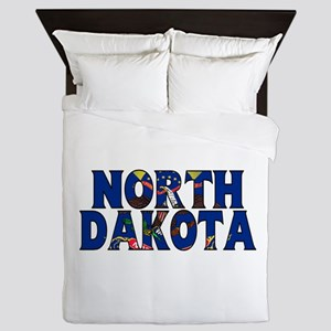 North Dakota Queen Duvet
