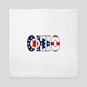 Ohio Queen Duvet