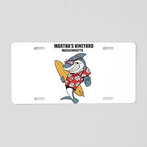 Marthas Vineyard, Massachusetts Aluminum License P
