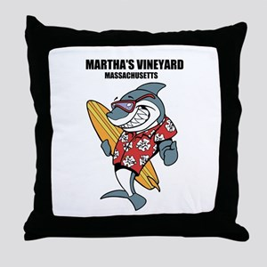 Marthas Vineyard, Massachusetts Throw Pillow