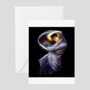 Boreas Waterhouse Fractal Digital Painting Greetin