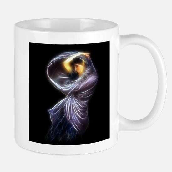 Boreas Waterhouse Fractal Digital Painting Mugs