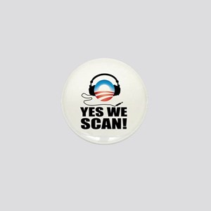 Yes We Scan Mini Button