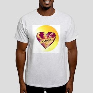 AMIGA on Heart of Sunshine Light T-Shirt