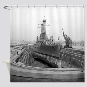 Brooklyn Navy Yard Dry Dock Shower Curtain