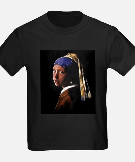 Girl with a Pearl Earring Digital Painting Vermeer