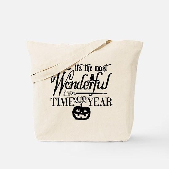 Most Wonderful (black) Tote Bag