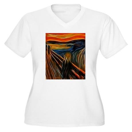 The Scream Fractal Painting Edvard Munch Plus Size