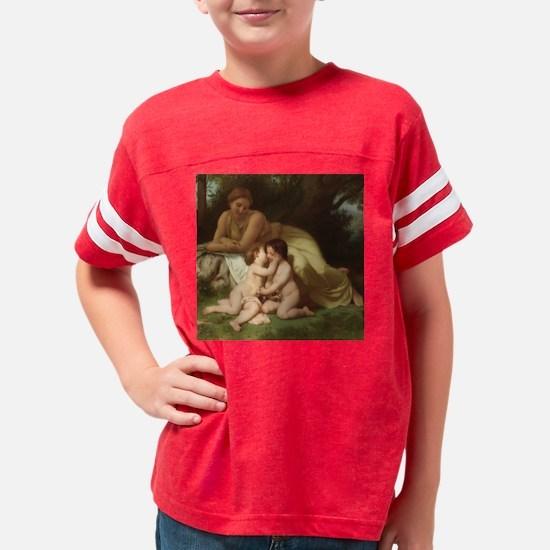 KCLOCK Young woman contemplat Youth Football Shirt