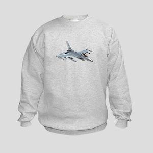 F-16 Falcon Kids Sweatshirt