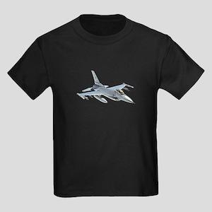 F-16 Falcon Kids Dark T-Shirt