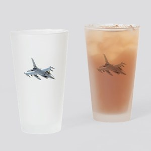 F-16 Falcon Drinking Glass