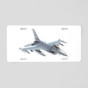 F-16 Falcon Aluminum License Plate