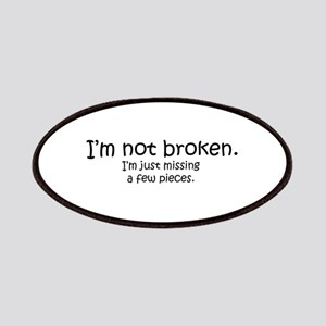Not Broken - Dark Writing Patch