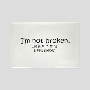 Not Broken - Dark Writing Magnets