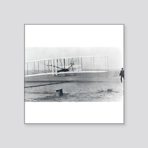 Wilber and Orville Wright Sticker