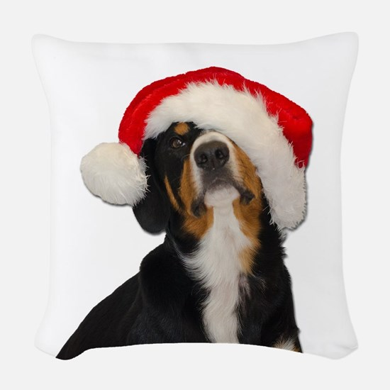Dear SantaPaws, I can Explain Woven Throw Pillow