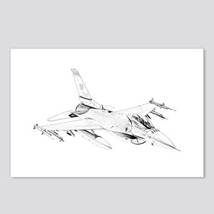 F-16 Falcon Postcards (Package of 8)