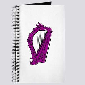 ornate purple harp Journal