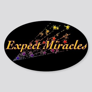Expect Miracle Sticker