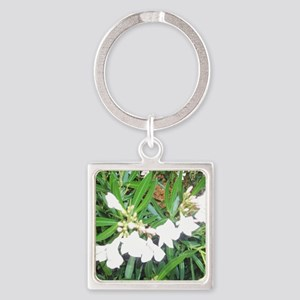 NAPLES FLOWERS Square Keychain